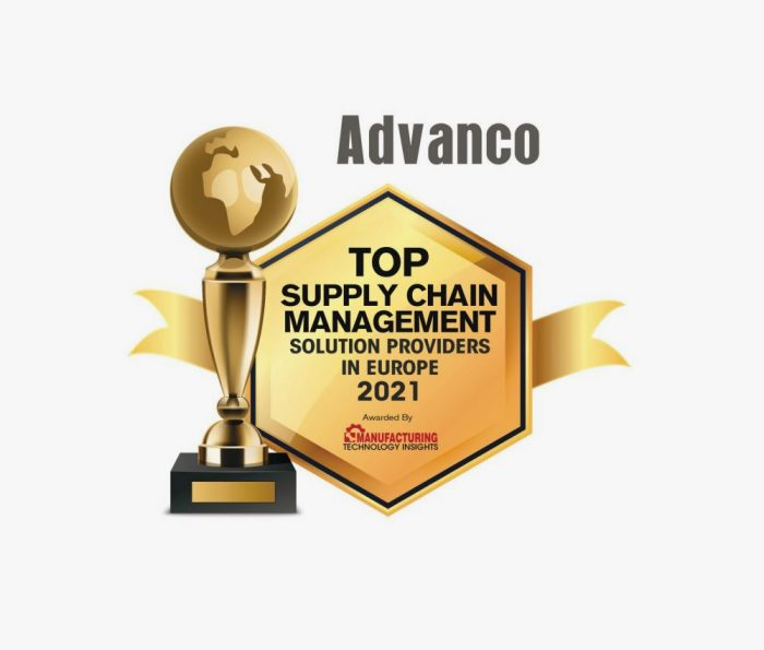 """Advanco is one of the """"Top Supply Chain Management Solution Providers"""" in Europe 2021"""